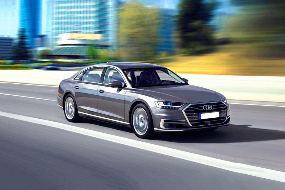 Tampak Depan Bawah Audi A8 L
