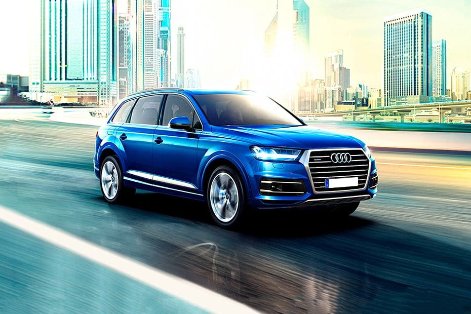 Q7 Front angle low view