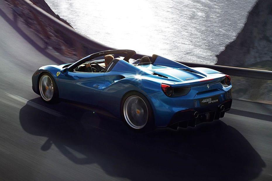 Ferrari 488 Spider Colors