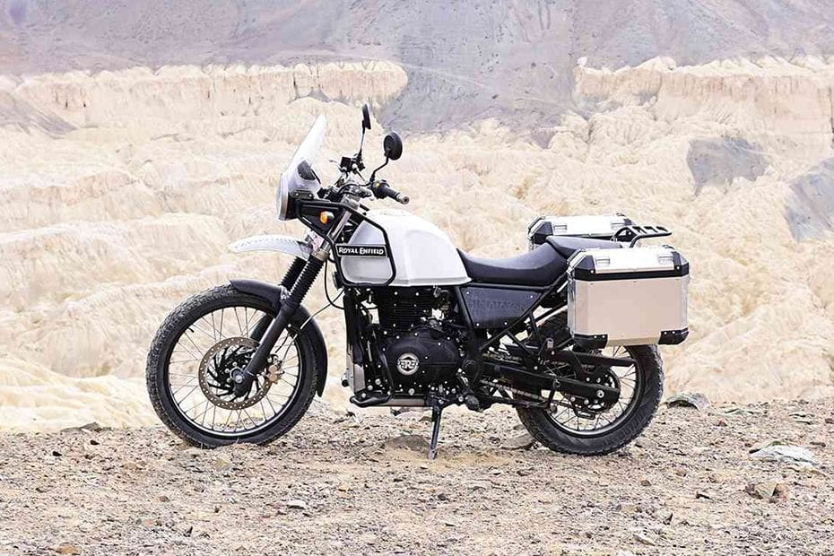 Royal Enfield Himalayan Left Side View Full Image