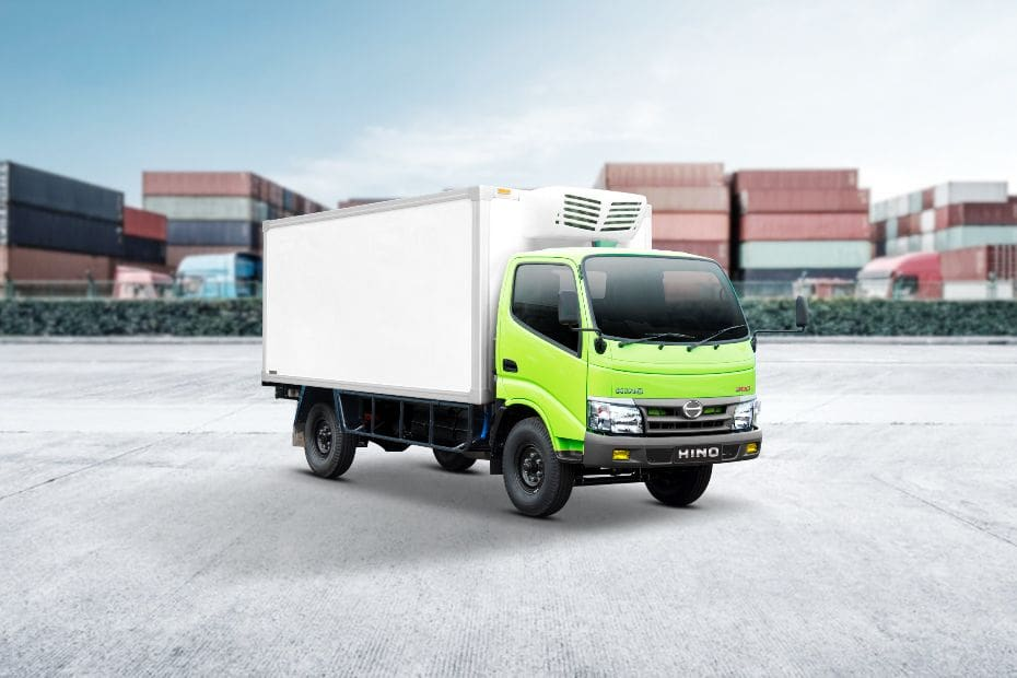 Dutro Cargo 110 SDL Front angle low view