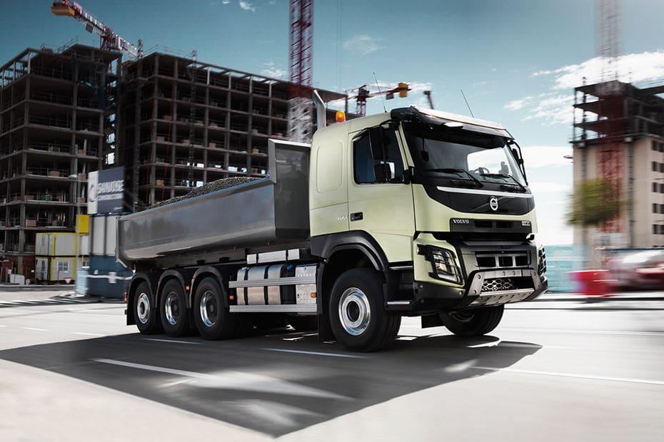 Tampak Depan Bawah Volvo FMX