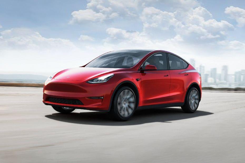 Tampak Depan Bawah Tesla Model 3