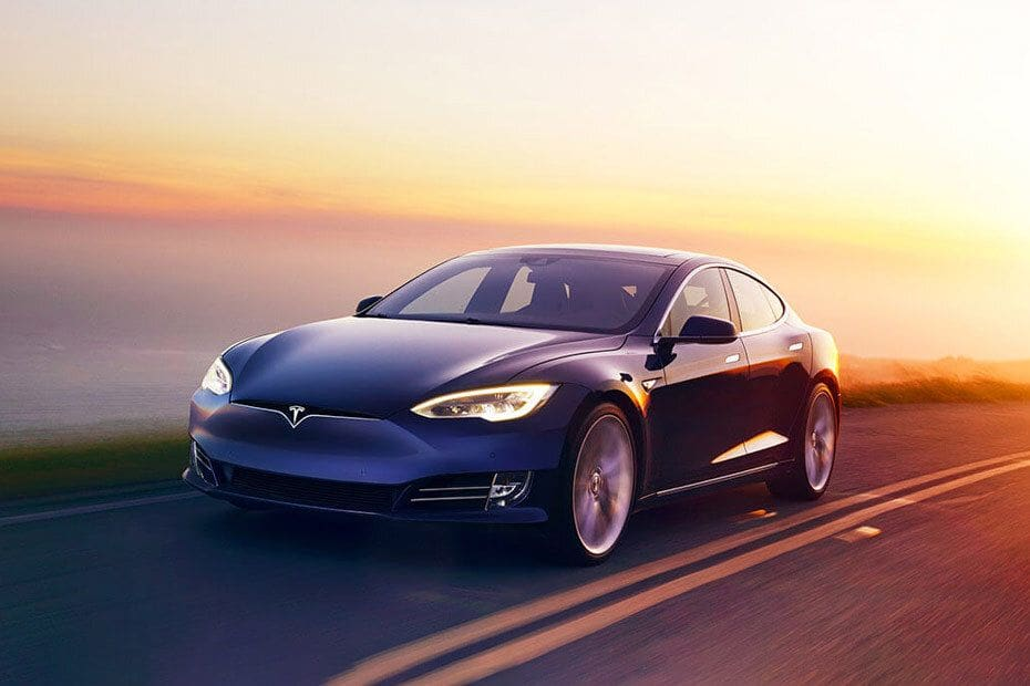 Model S Front angle low view