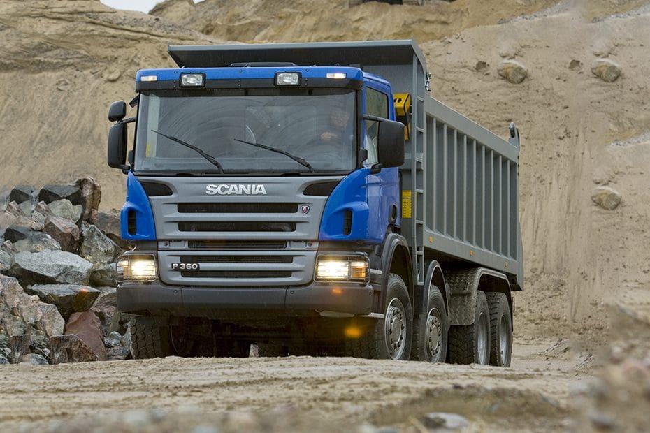 Tampak Depan Bawah Scania P360-B HT