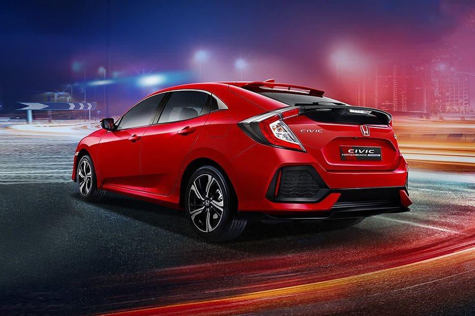Honda Civic Hatchback Colors