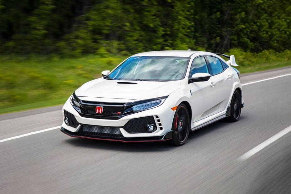 Civic Type R Front angle low view