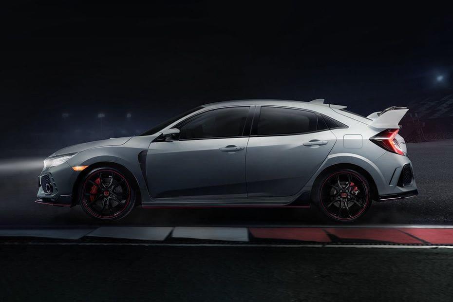 Pandangan 360° untuk Honda Civic Type R