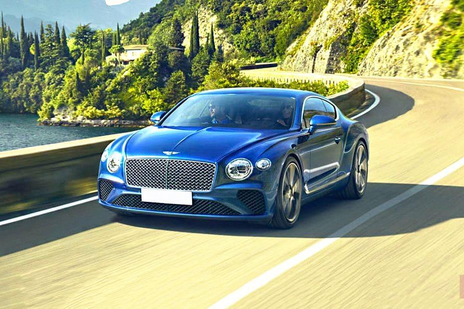 Tampak Depan Bawah Bentley Continental