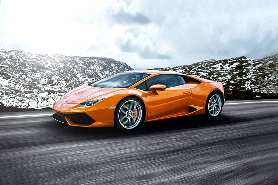 Huracan Front angle low view
