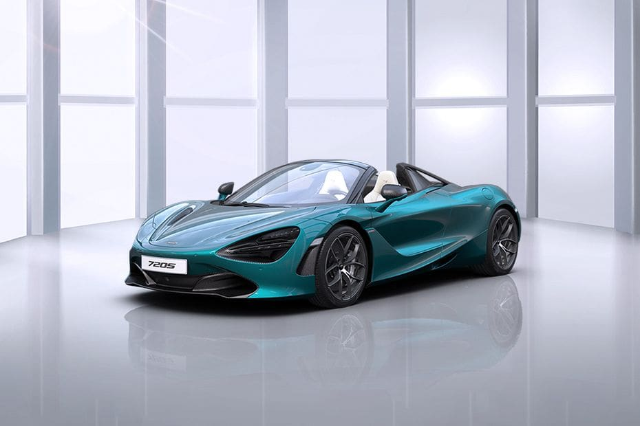 720S Spider Front angle low view