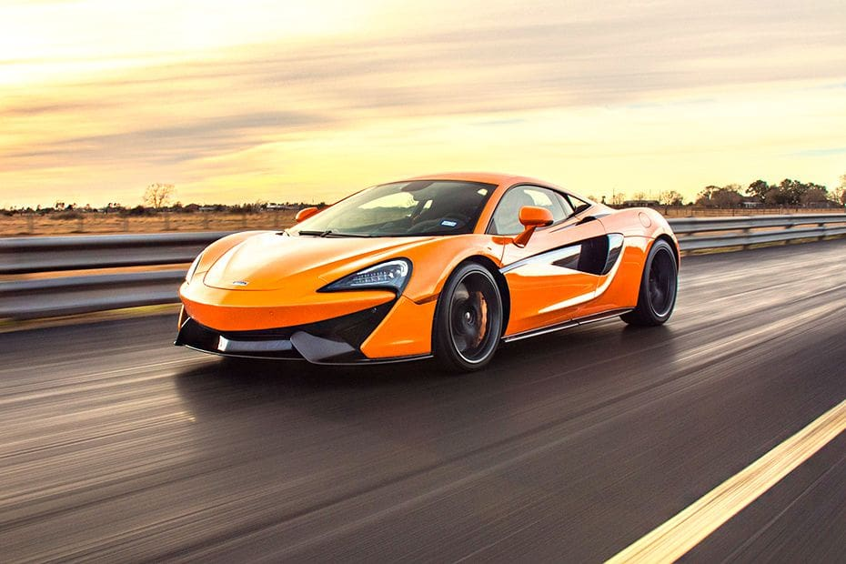 570S Front angle low view