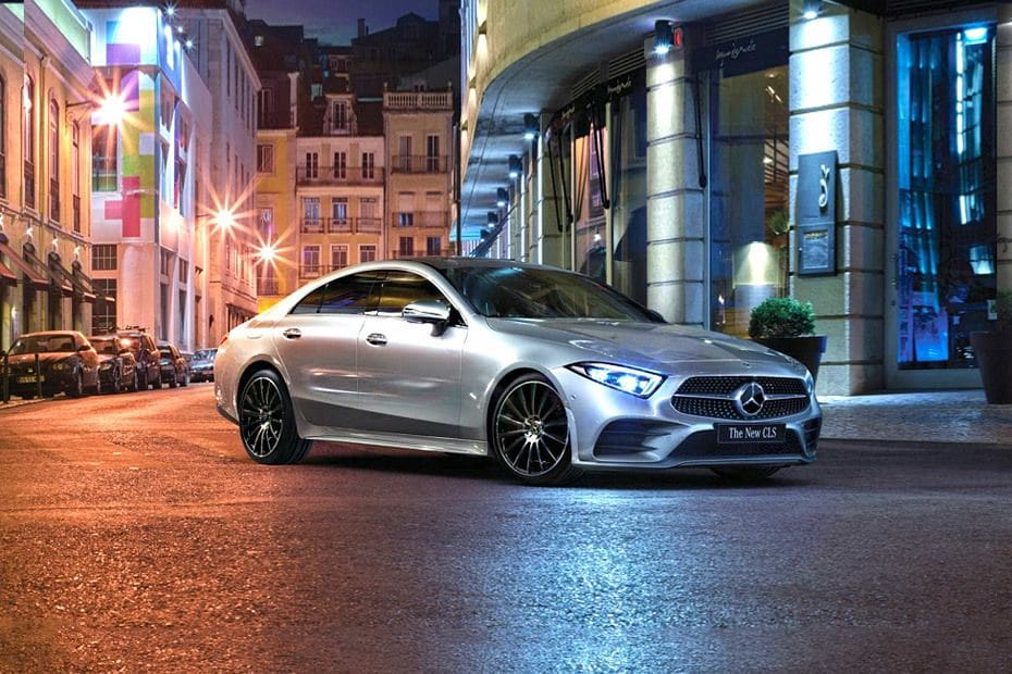 CLS-Class Front angle low view