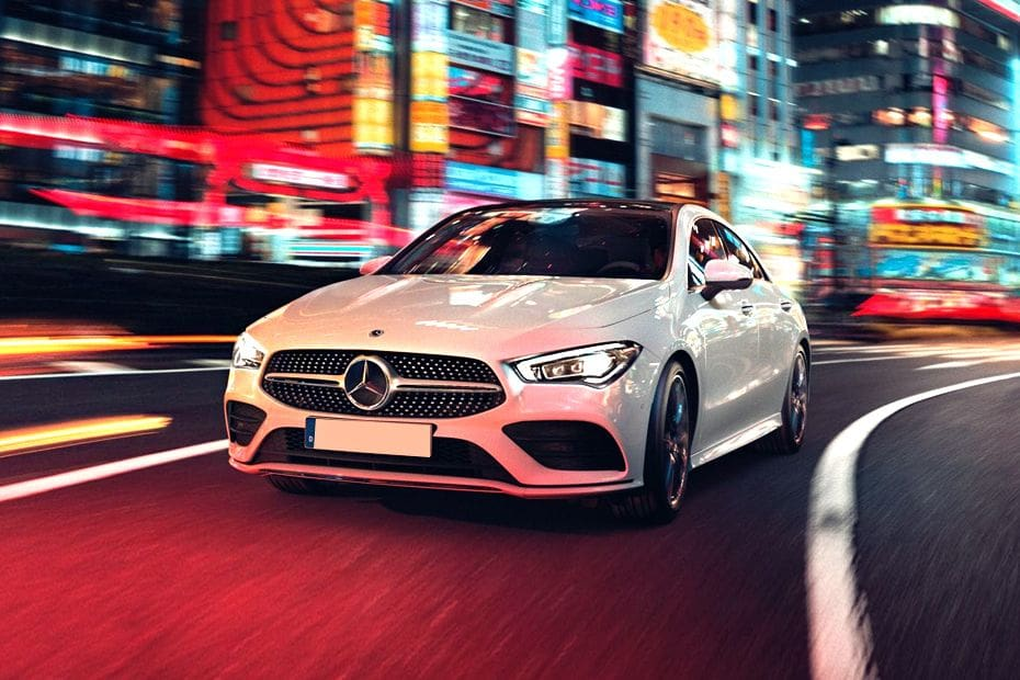 CLA-Class Front angle low view