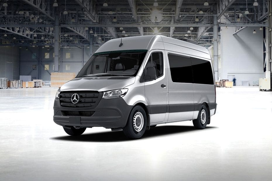 Sprinter Front angle low view