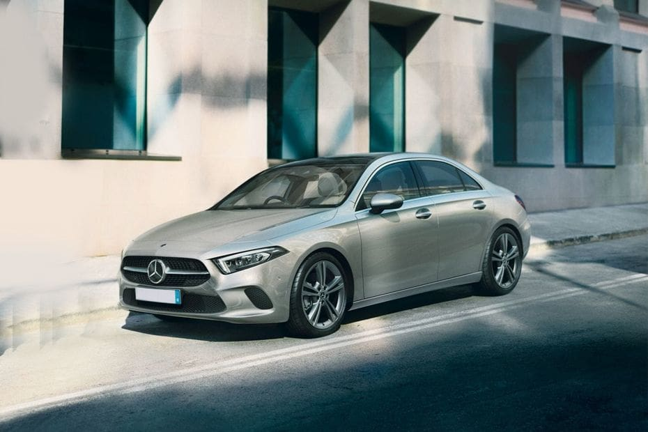 A-Class Sedan Front angle low view