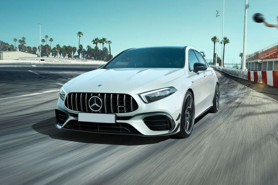 AMG A35 Front angle low view