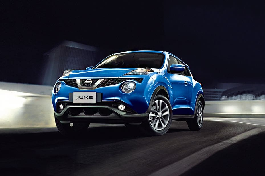 Juke Front angle low view