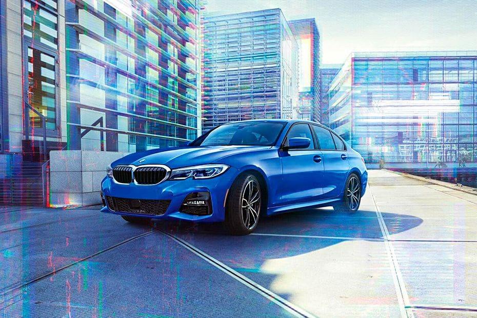 Tampak Depan Bawah BMW 3 Series Sedan