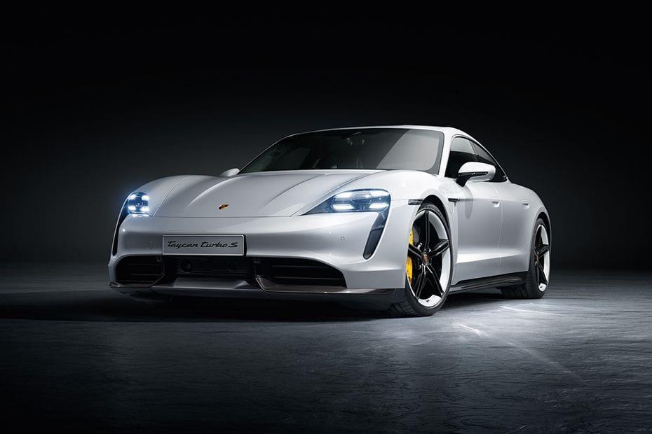 Tampak Depan Bawah Porsche Taycan