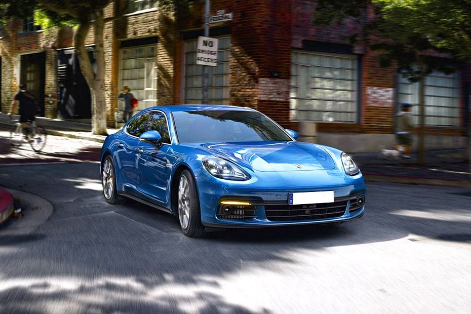 Panamera Front angle low view
