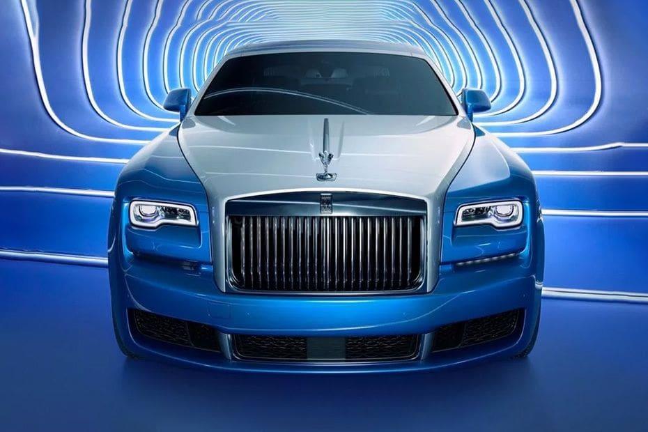Warna Rolls Royce Ghost