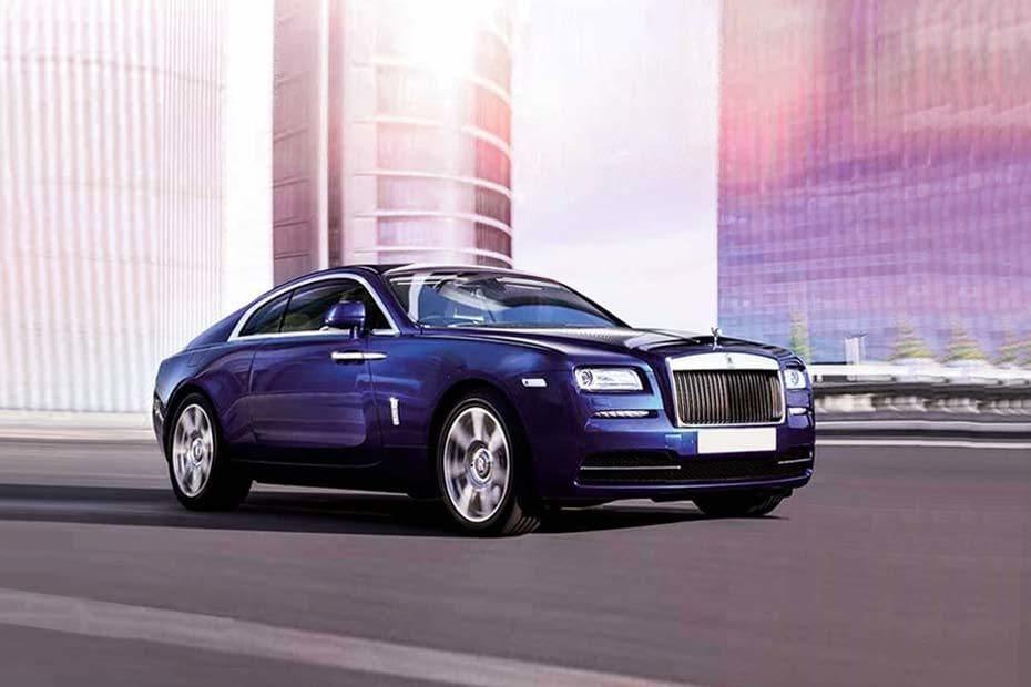 Tampak Depan Bawah Rolls Royce Wraith