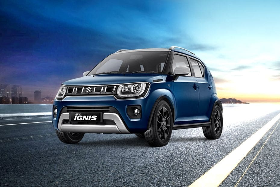 Ignis Front angle low view