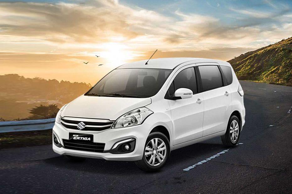 Tampak Depan Bawah Suzuki Ertiga (2016-2017)