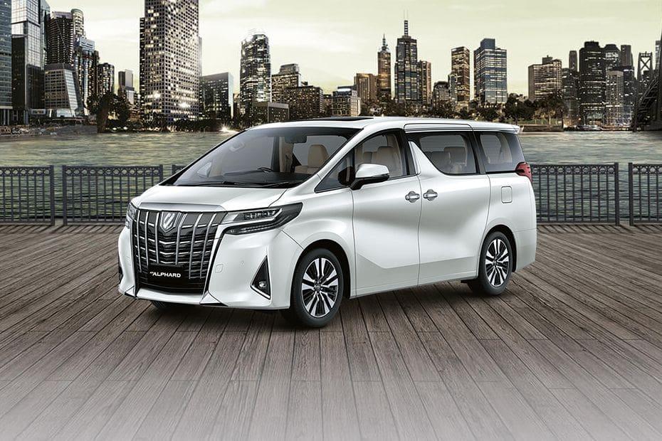 Tampak Depan Bawah Toyota Alphard