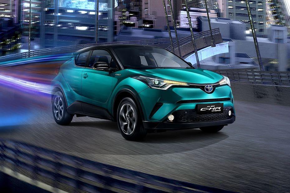 Tampak Depan Bawah Toyota CHR Hybrid