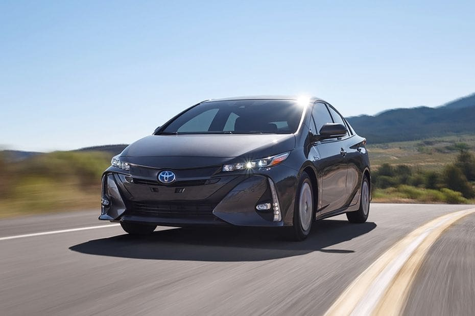 Prius PHEV Front angle low view
