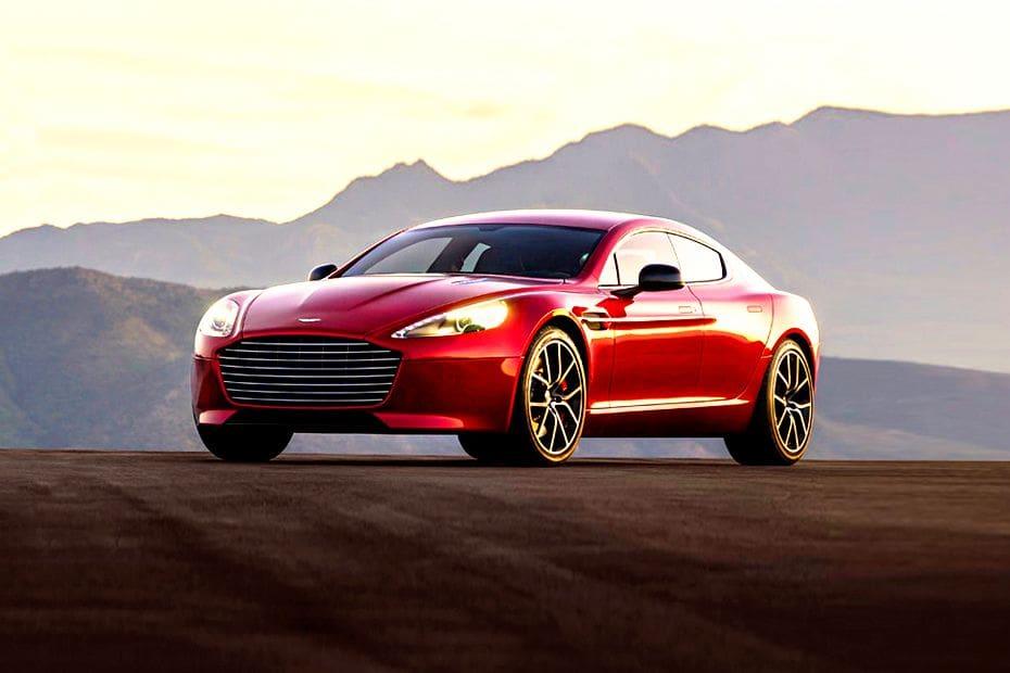 Tampak Depan Bawah Aston Martin Rapide S