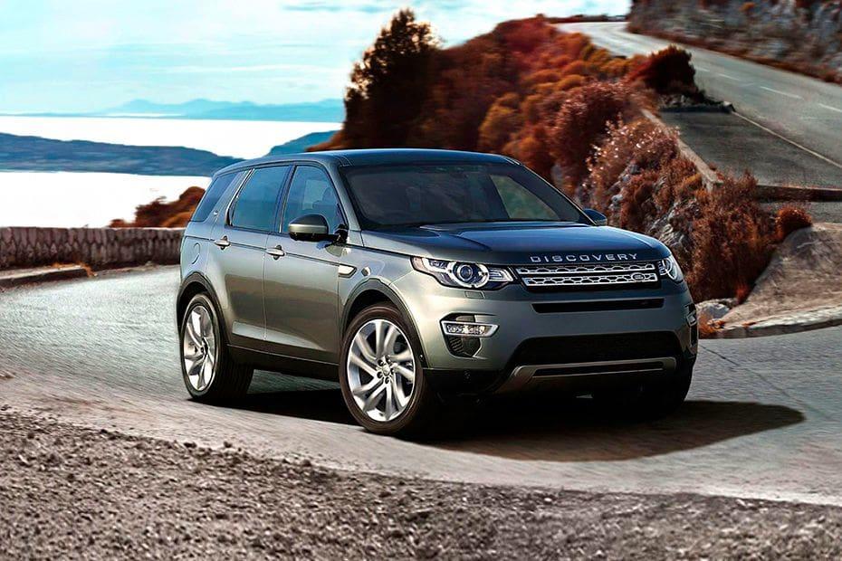 Tampak Depan Bawah Land Rover Discovery Sport