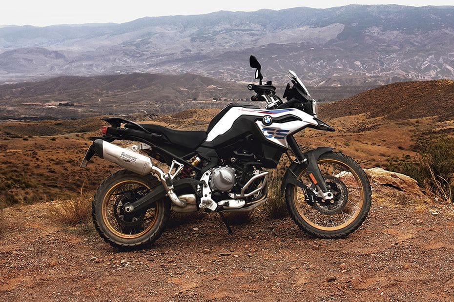 BMW F 850 GS Right Side Viewfull Image