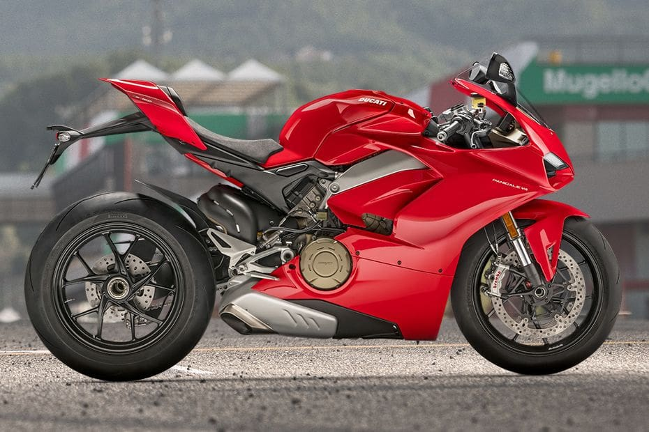 Ducati Panigale V4 Right Side Viewfull Image