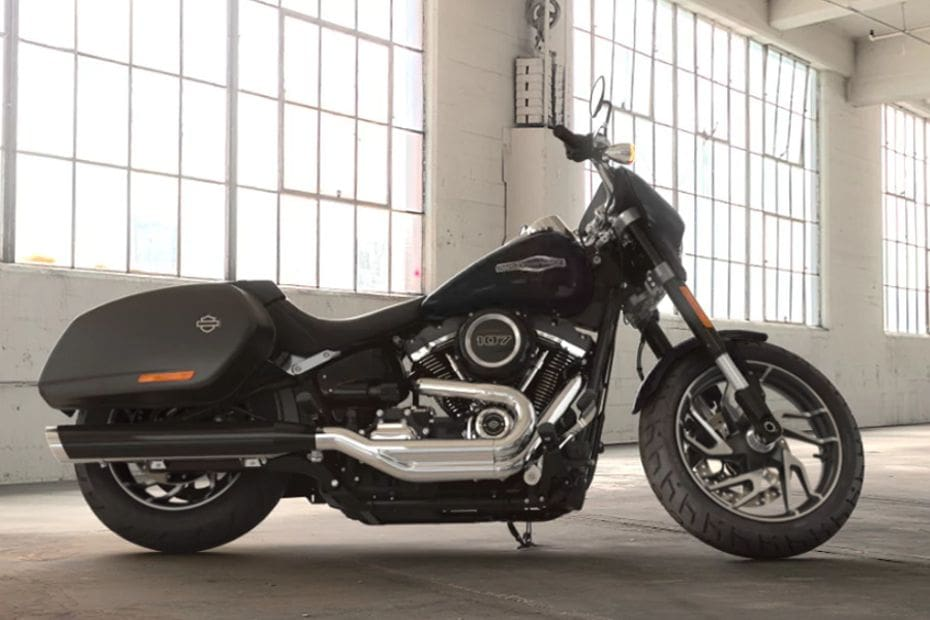 Harley Davidson Sport Glide Right Side Viewfull Image