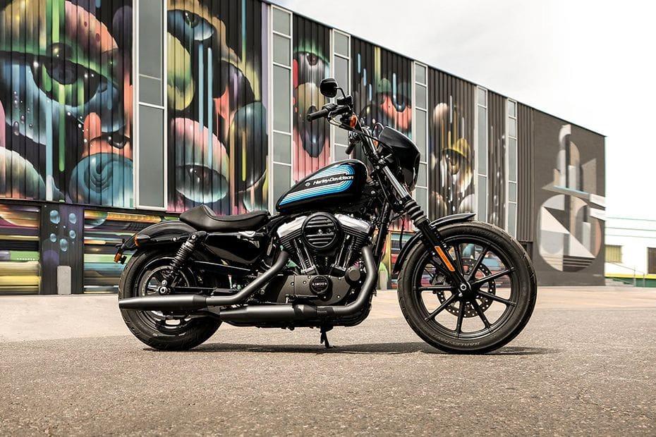 Harley Davidson Iron 1200 Slant Rear View Full Image