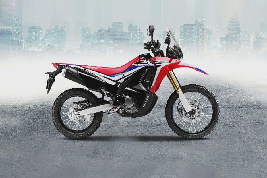 Honda CRF250Rally Right Side Viewfull Image