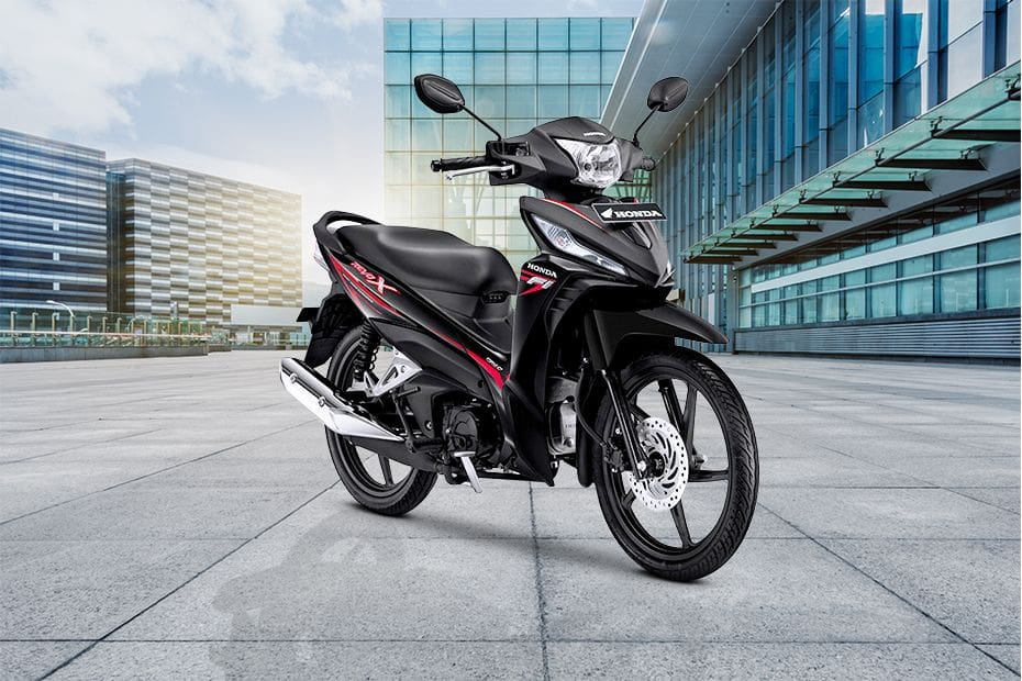Honda Revo Slant Rear View Full Image
