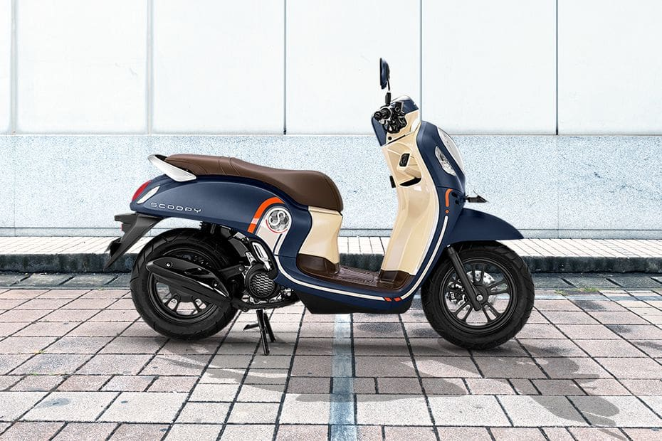 Honda Scoopy Right Side Viewfull Image