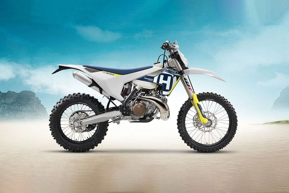Husqvarna TE 300 Right Side Viewfull Image