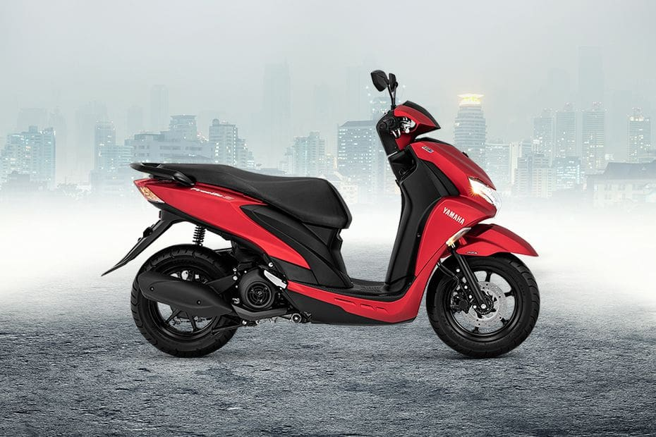 Yamaha FreeGo Right Side Viewfull Image
