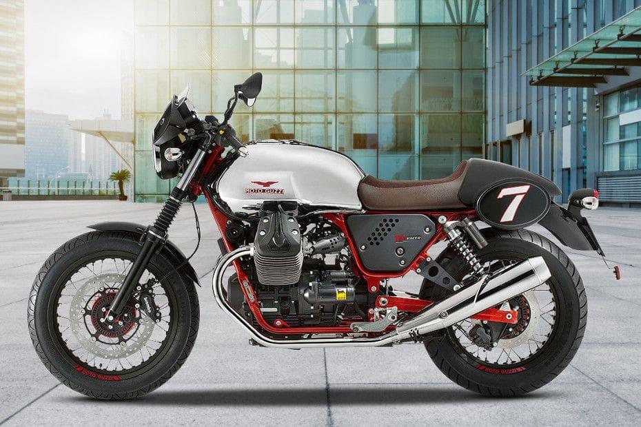 Video Moto Guzzi V7 II Racer