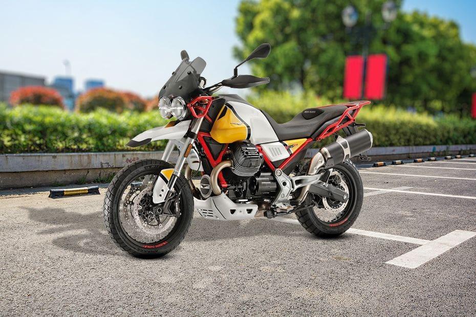 Gambar Moto Guzzi V85TT