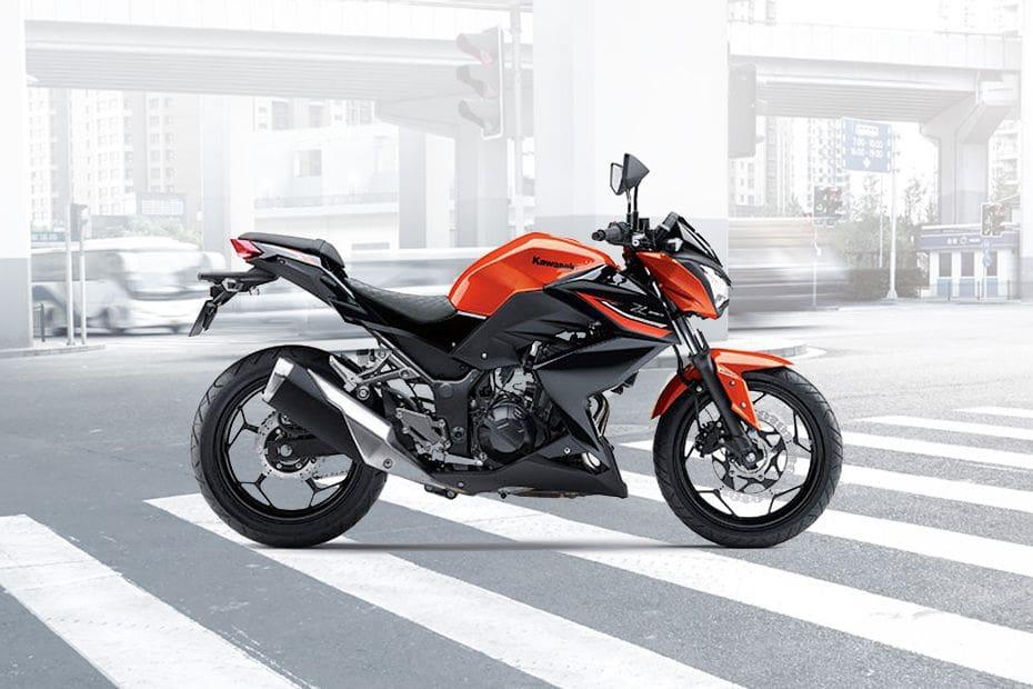 Kawasaki Z250 Right Side Viewfull Image