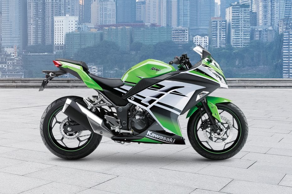 Kawasaki Ninja 300 Right Side Viewfull Image