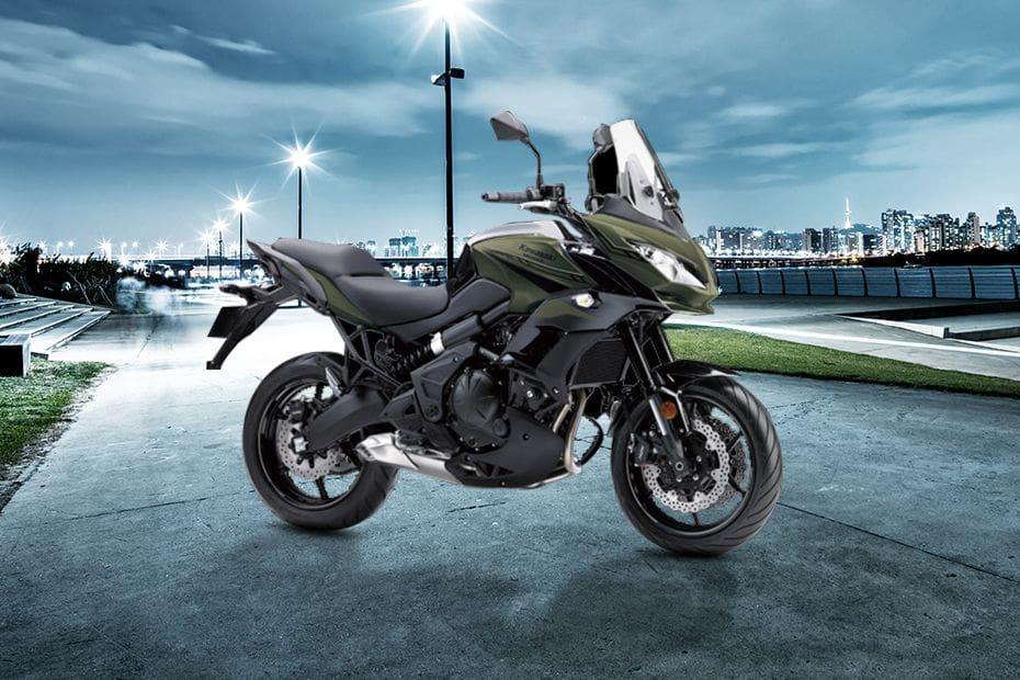Kawasaki Versys 650 Slant Front View Full Image