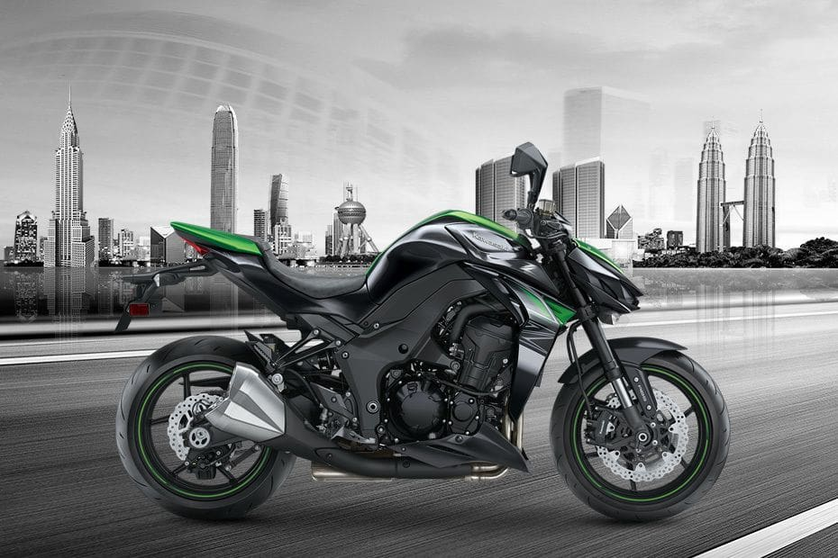 Kawasaki Z1000 Right Side Viewfull Image