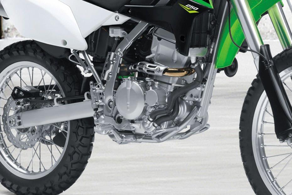 Warna Kawasaki KLX 250